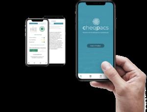 cheqpacs app von spacepilots