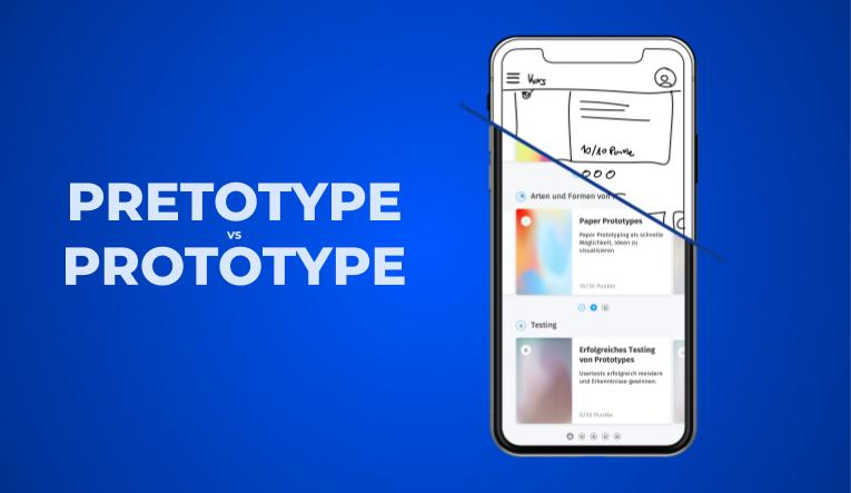 Prototype vs pretotype